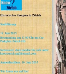 Flyer_Know_Zuerich